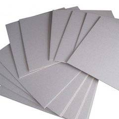 Hot sale good stiffness 2mm grey board manufacturer