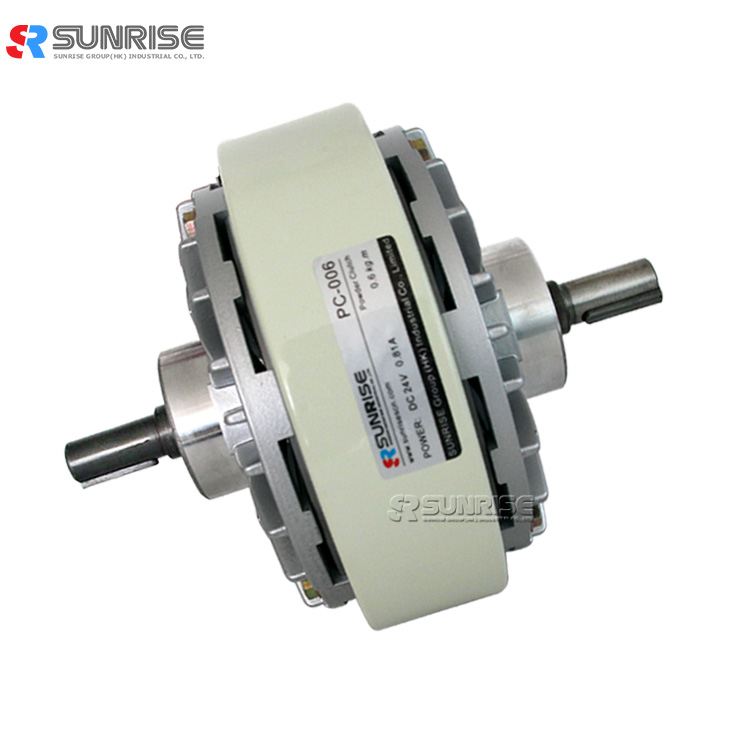 SUNRISE High Quality Uniaxial Dongguan Supply Magnetic Powder Clutch