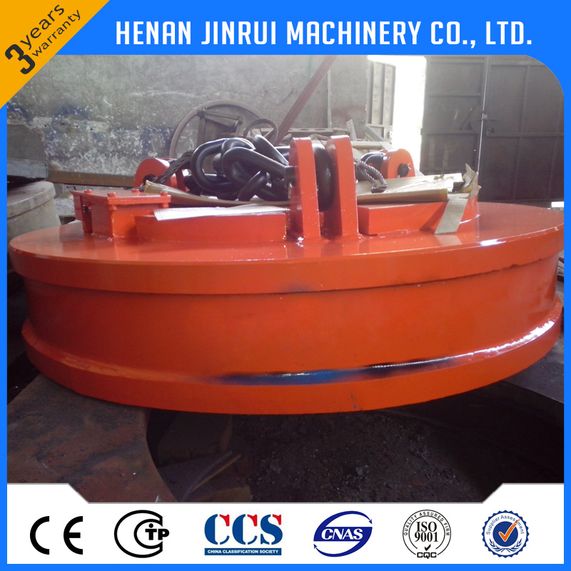Electromagnetic chuck lifter used on crane for scrap iron