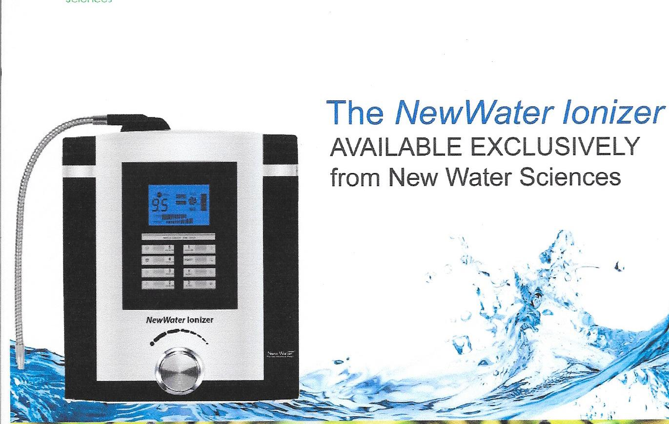 New Water Ionizer