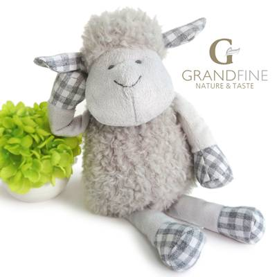 lovely soft plush sheep toys best kids toys EN71 test report and CE mark and Reach docs 2015 most po