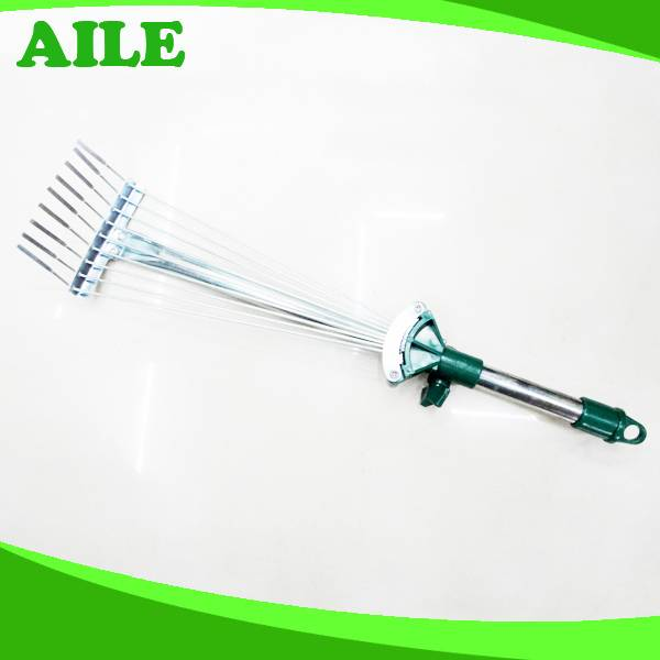Long Handle Folding Garden Rake