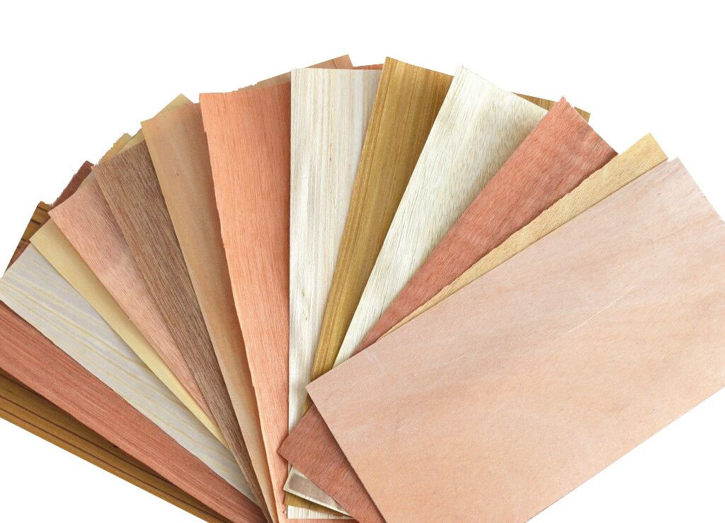 All types of wood veneer for plywood