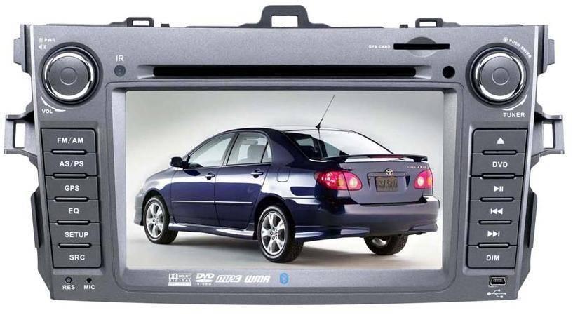 Car GPS DVD Player TOYATO /COROLLA(NEW)(Digital screen)