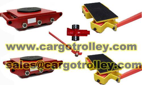 Swivel cargo moving trolley perfectly solution for indoor transport