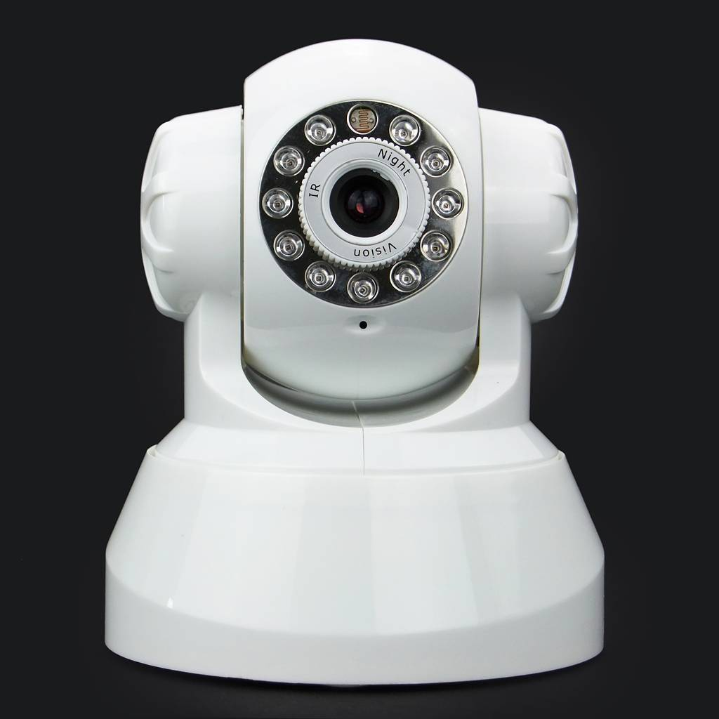 CCTV Security 3G HSDPA Video Pan-tilt Dome Camera Alarm System With SIM Card Slot