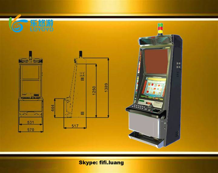 Slot Game Machine Game Cabinet Metal Game Cabinet