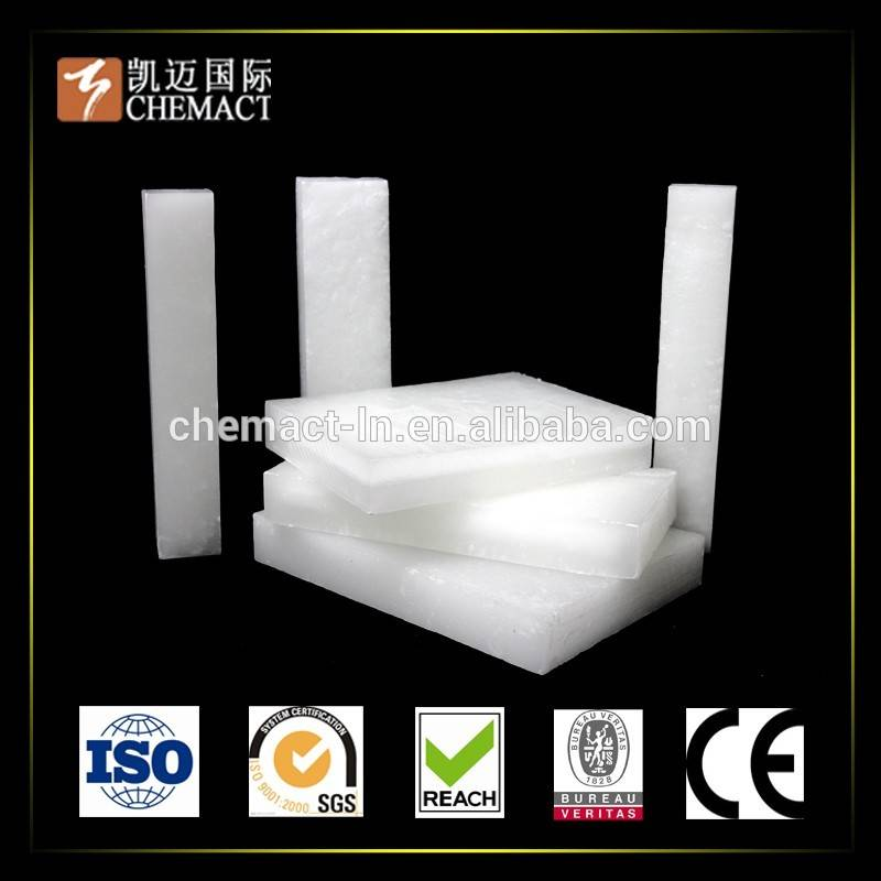 Solid Froms Fully & Semi Refined Paraffin Wax 58 60 for Candle Making