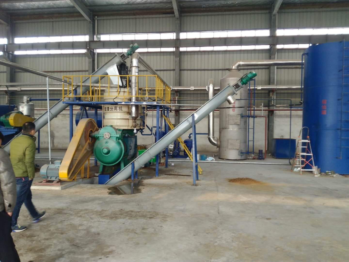 Animal Oil, Plant Oil, meat and bone meal, and Biodiesel Production Line, waste clay treatment line