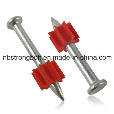 High-Strength Shooting Nail with Red Washer