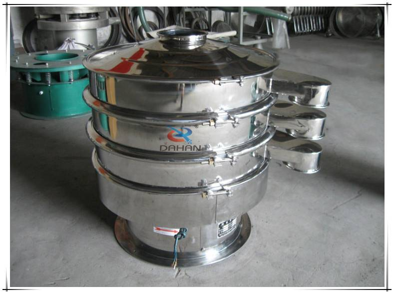 2-decks vibrating screen device with best price and large capacity