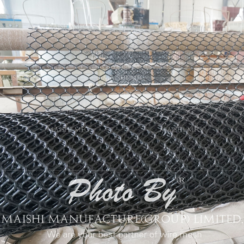 HDPE Extruded Oil Pipeline Protection Mesh