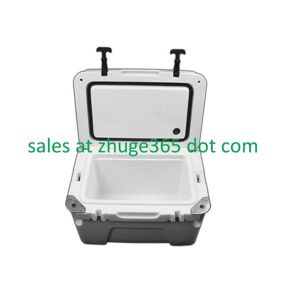 Premium 25Liter Marine White Ice Chest | Cooler Box for Camping