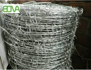 Fence top security barbed razor wire