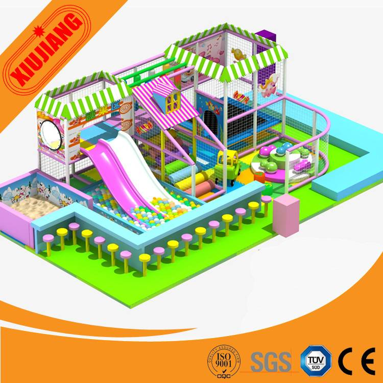 Commercial Kids Indoor Playground Games, Soft Foam Indoor Playground For Baby