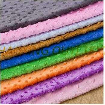 bubble fleece fabric for pillow etc