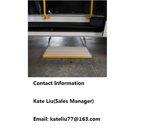 Electric retractable footstep for vans,minibuses,commercial vehicle,school bus,motorhomes,ambulance