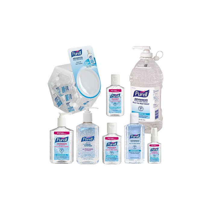PURELL HAND SANITIZER GEL ALL SIZES AVAILABLE