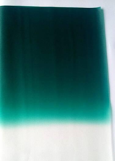 Green on clear Auto. PVB film