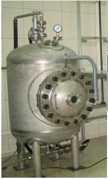 IPX8 water pressure tank