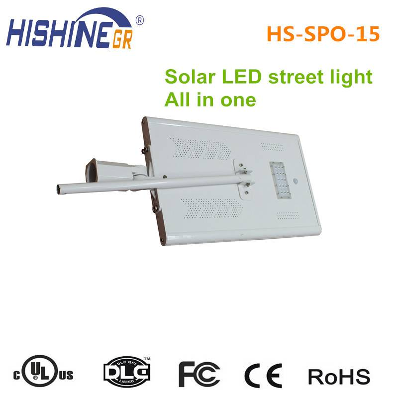 30w led street light solar power