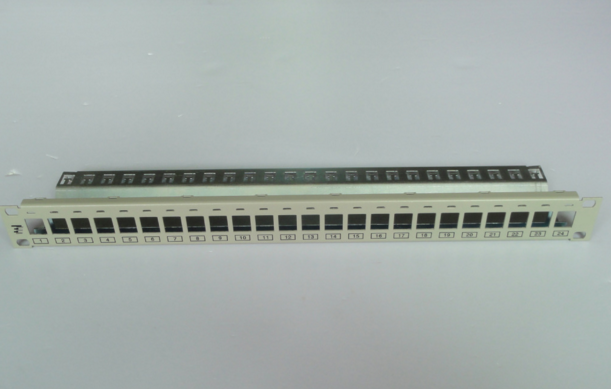 AMP Cat6 48 port UTP(unshielded) patch panel(with jacks)