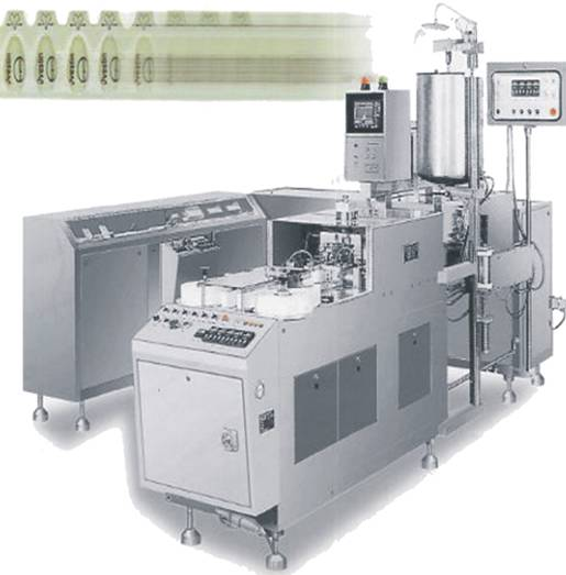 ZS-U Type Full-Automatic Suppository Filling and Sealing Machine