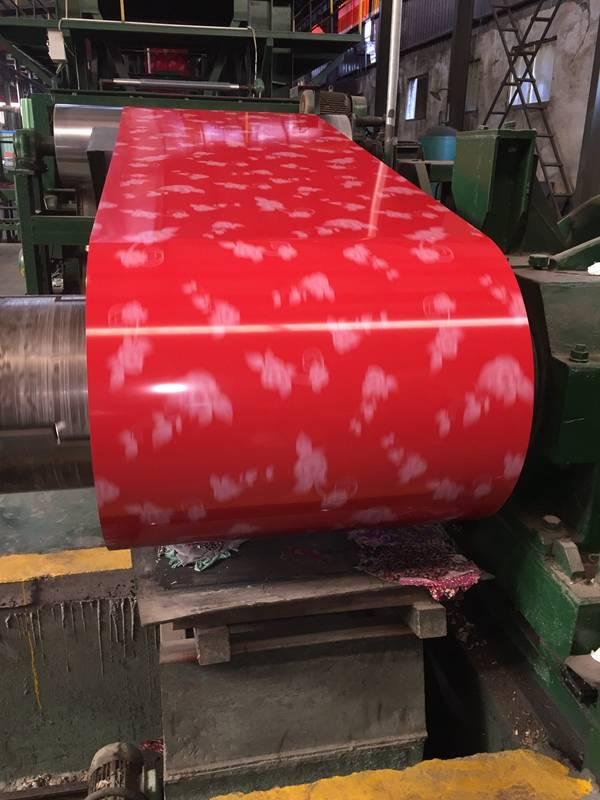 Prepainted Alu-Zinc Steel Coil (DX51D+AZ, DX52D+AZ, DX53D+AZ, DX54D+AZ)