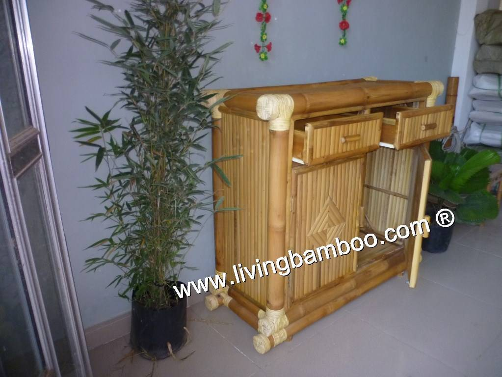 BAMBOO CABINET FOR HOME FURNITURE