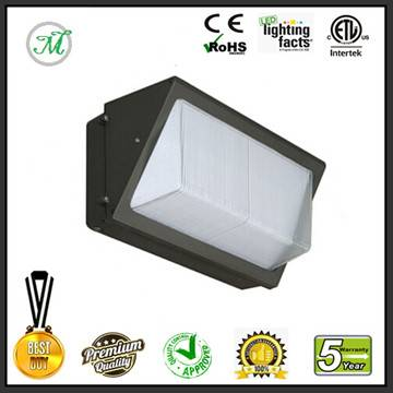 8100lm dlc 90w led wall pack light outdoor modern wall lamp