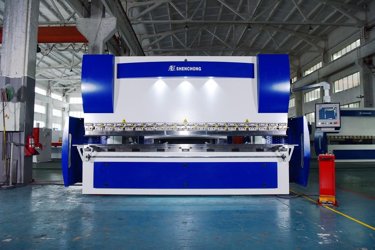hydraulic press brake CNC 125T4000 ELGO P56T for sheet metal fabrication