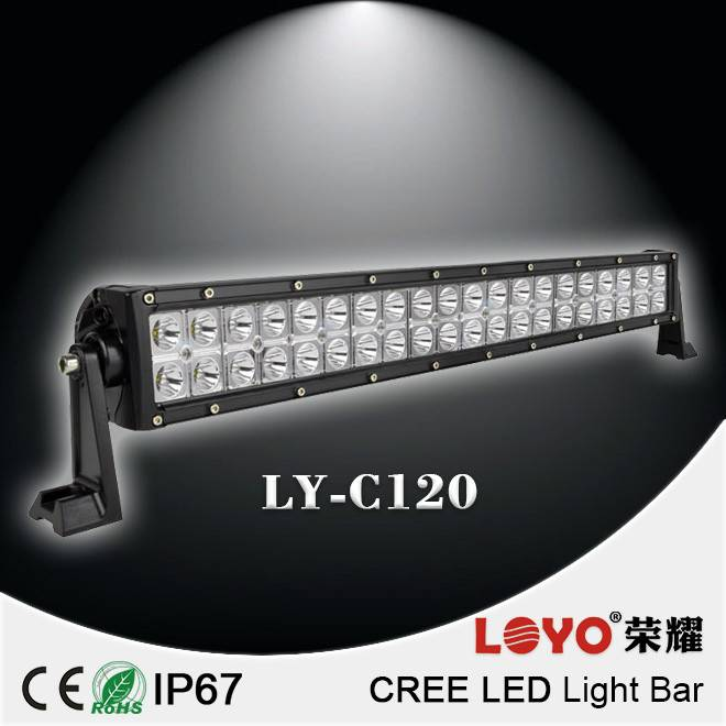 Factory Cheap Offroad Led Light Bars double row 55usd 120w cree led light bar for wholesale