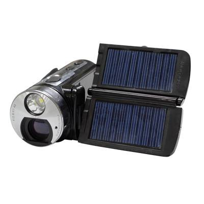 """Full HD Dual Solar Panel Digital Video Camera with Torch Light and 3"""" TFT Screen DV-HT99"""