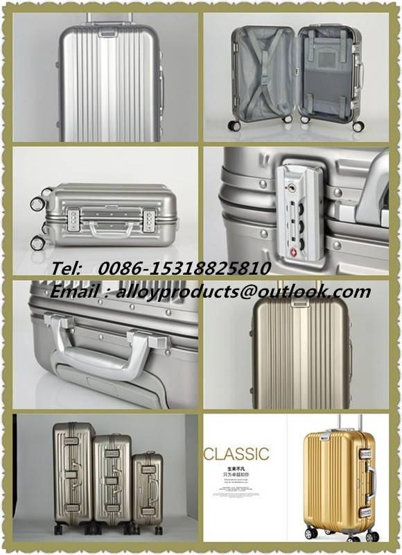 complete aero aluminium  travel luggage