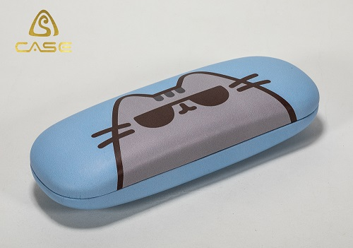 Classic Metal Iron Optical Glasses Case Eyeglasses Packaging Small Spectacle Case