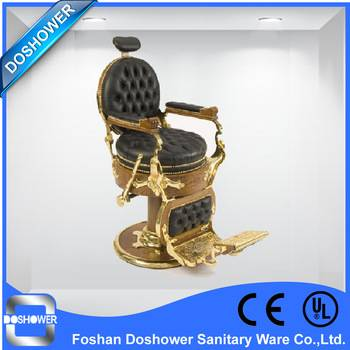 DS luxury hair cutting chairs price of antique barber chair salon