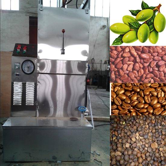 Stainless steel hydraulic black seed oil making machine