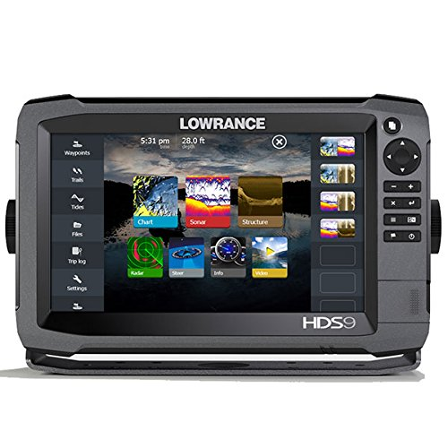 Lowrance 000-11791-001 HDS-9 GEN3 Insight Fishfinder/Chartplotter with CHIRP/StructureScan Sonar and