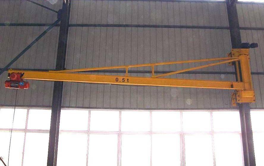 BZQ Model Wall Mounted Jib Crane(Pilaster Swing Crane)