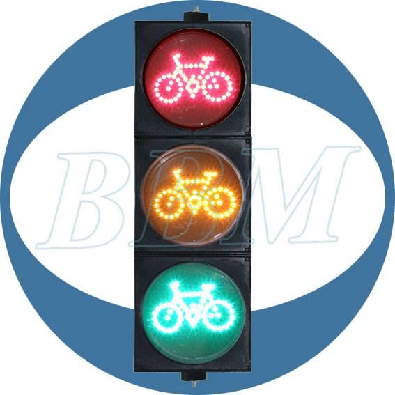 200mm/8inch bike traffic warning light