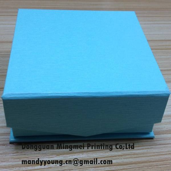 blue special paper gift box