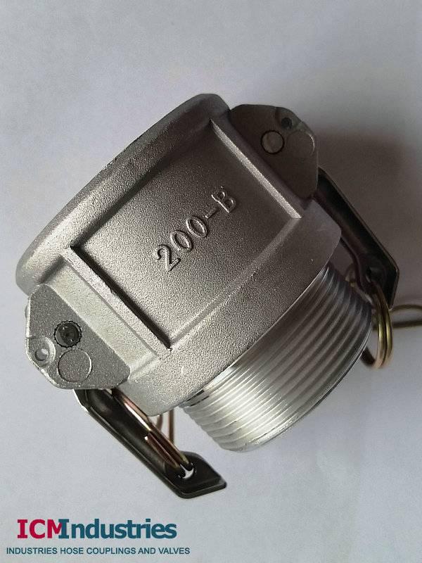 Aluminium camlock fittings type B