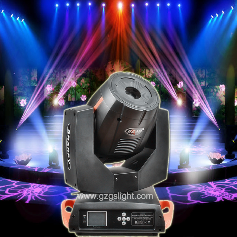 Professional 7r Sharpy 230W LED Moving Head Beam Light for Stage Event Show (A230GS-TA)