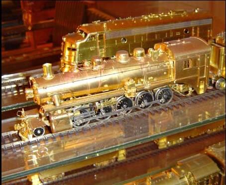 Brass Electric Train Model O Scale Australia 4405#