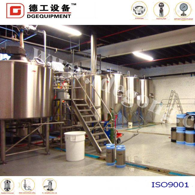 machine for beer brewing/fermenting/production