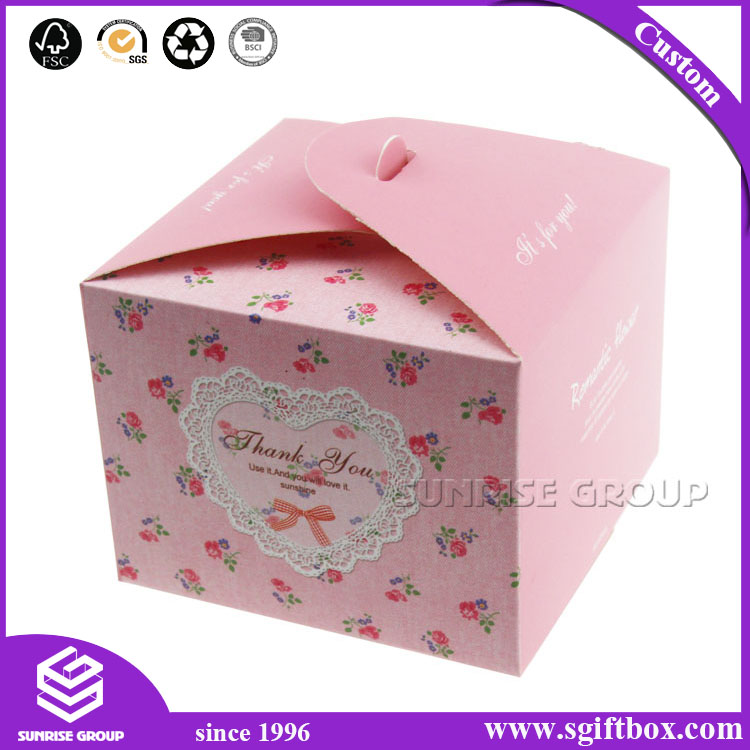 Cardboard Candy Cake Square Packaging Gift Box