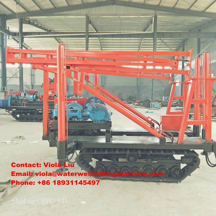 ST-200 Geological Exploration Water Well Drilling Rig for Core Drilling