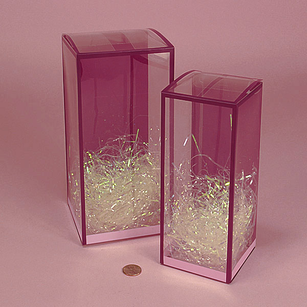 Plastic Pvc Boxes For Perfumes