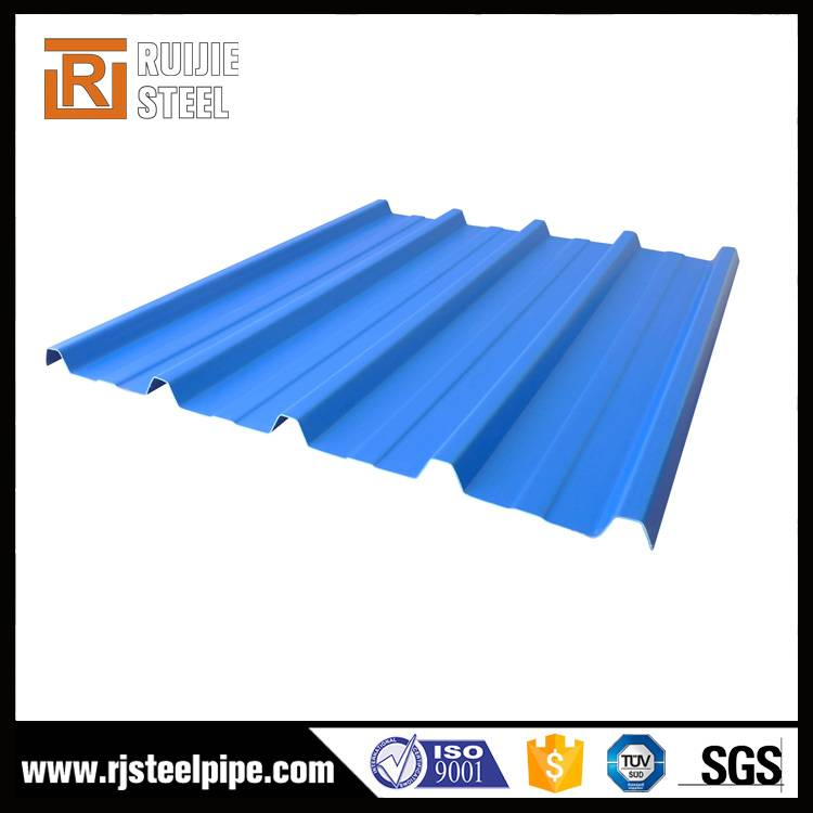Galvanized roofing sheet, color coated corrugated steel sheet