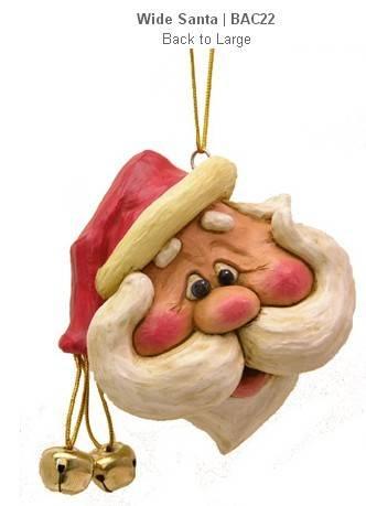Polyresin Santa Claus hanging